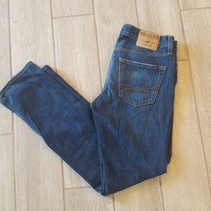 HOLLISTER Slim Straight 1922 Dark Wash Jeans